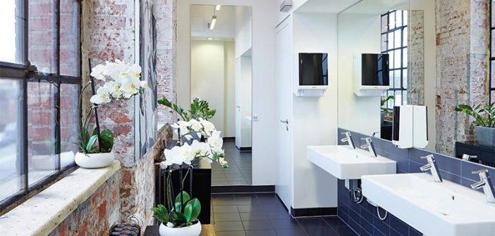 Öffentliche Waschräume sind kein Ort zum Wohlfühlen