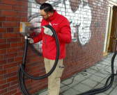 systeco Tornado ACS im Video: Schonende Beseitigung von Graffiti