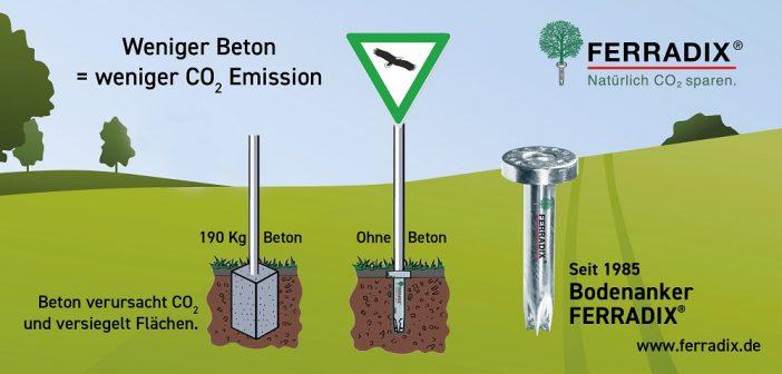 April: Bodenanker: Weniger Beton, weniger CO2